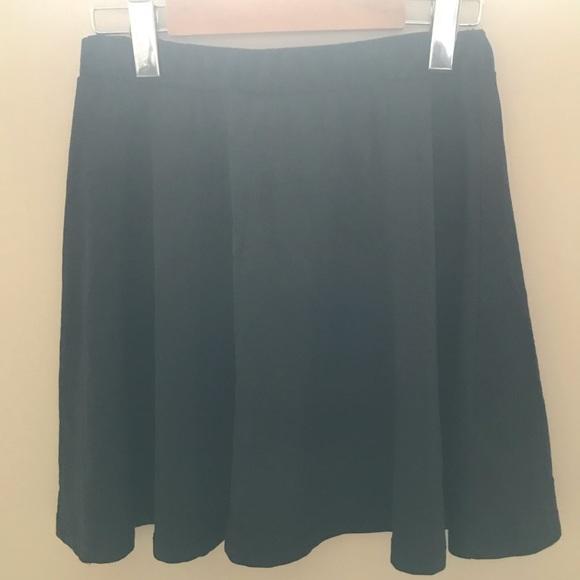 BOGO Loose Circle Black Skirt